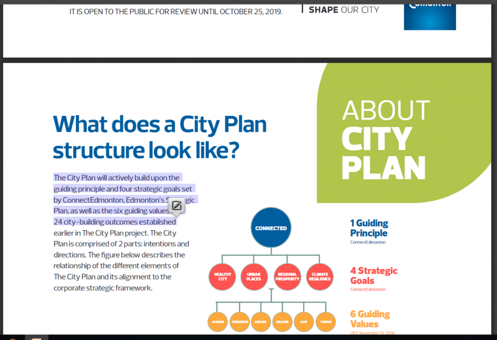 City Plan screen shot
