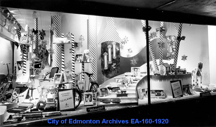 "EA-160-1920 ""Woodward's Christmas Display"" ca. 1940"