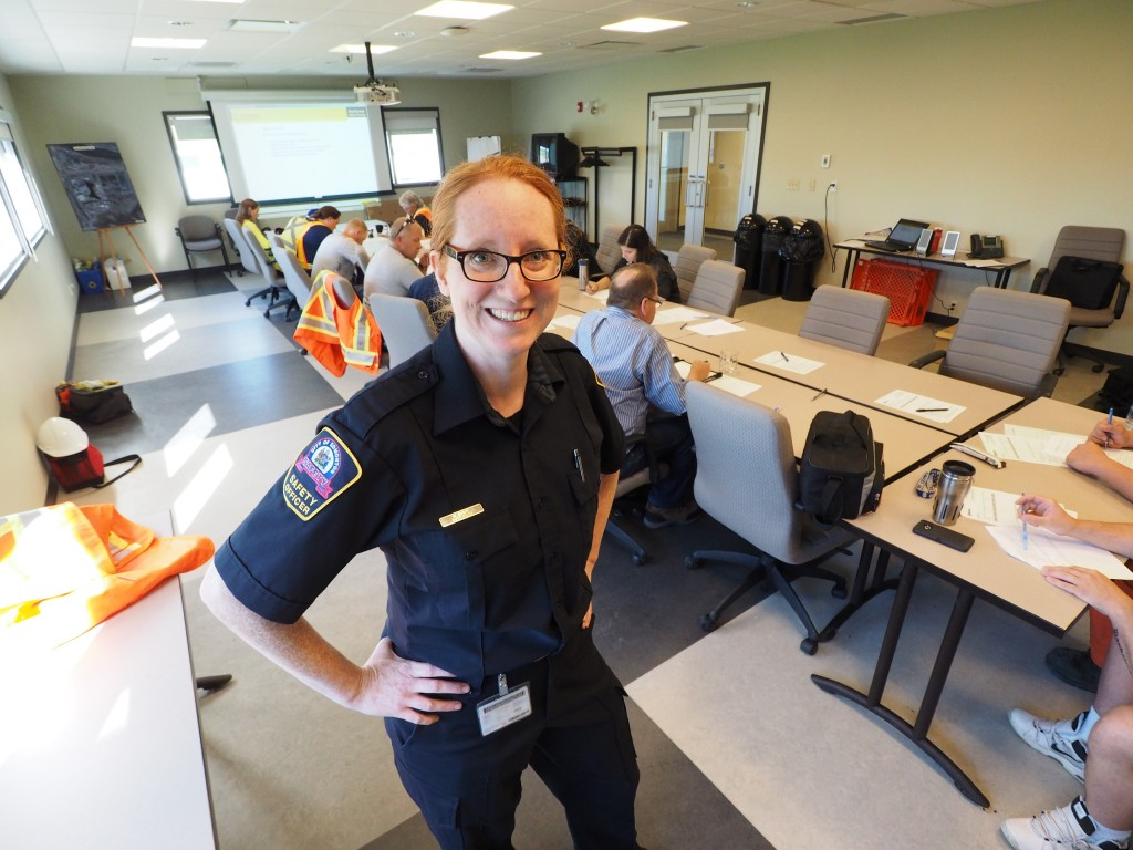 "Edmonton Fleet Safety Officer Melissa Emery is a high-energy person who gets her professional kicks by making the world a little safer. ""I've always been kind of a rules and regs geek,"" she says."