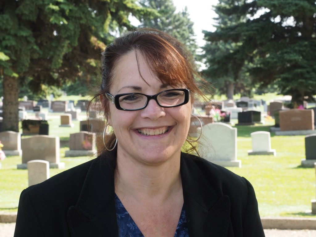 City of Edmonton cemetery sales team lead Carmen Linman came to Community Services on a computer software project eight years ago…and never left.