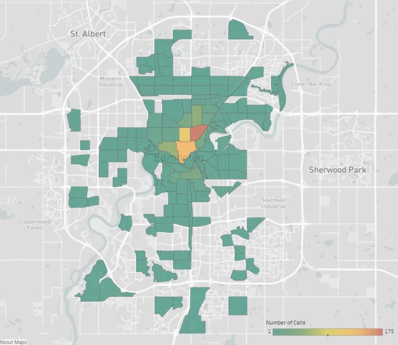 City unveils needle collection maps