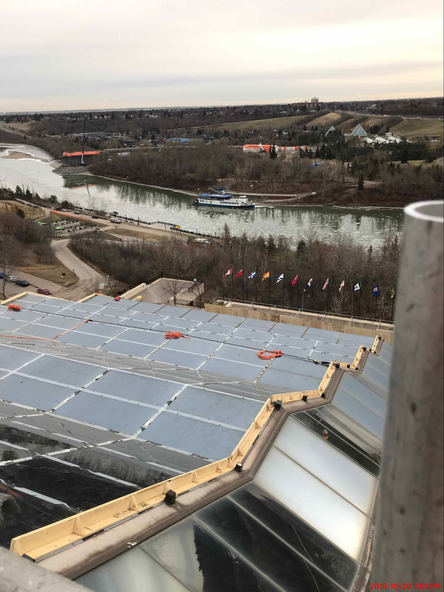 🌞 Some cool things about solar at Edmonton Convention Centre