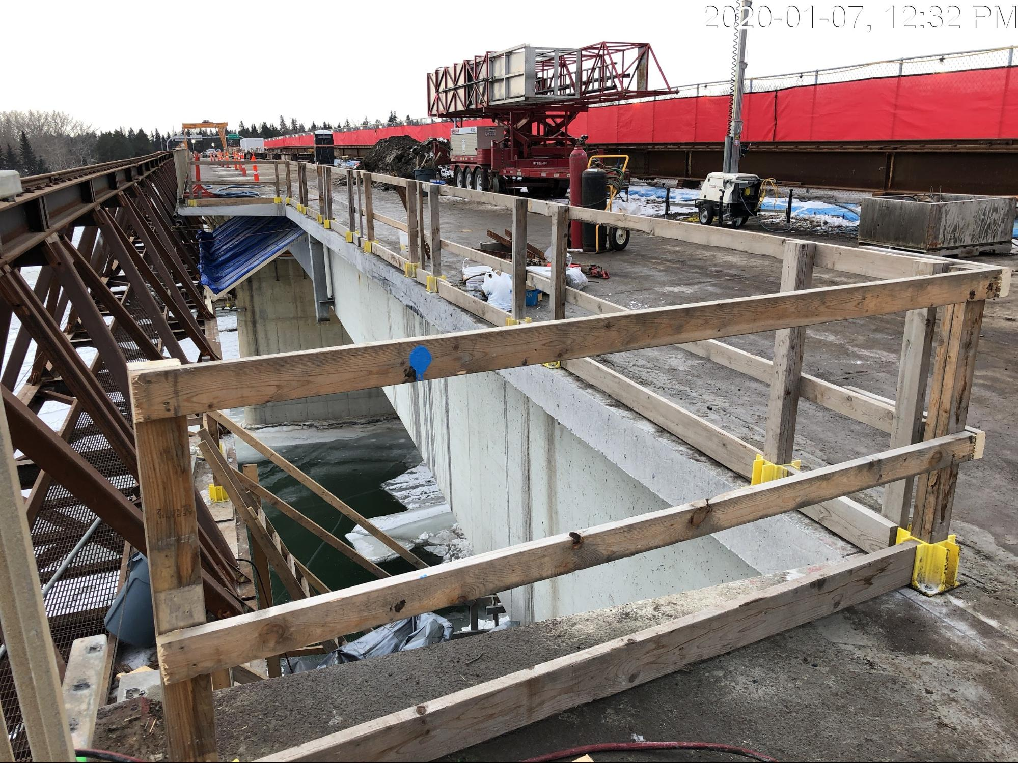 Bridge demolition work requires temporary SUP closure. Here's why.