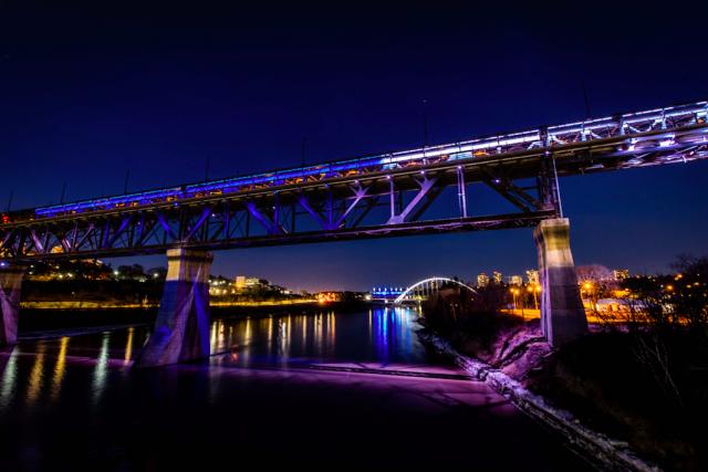 High Level Bridge lit for Nova Scotia heartbreak