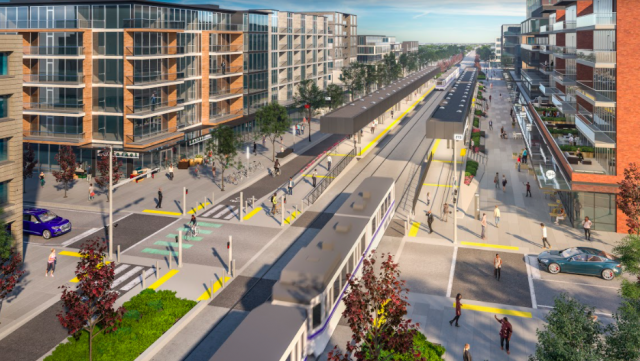 Sustainable transportation: bringing LRT to Blatchford
