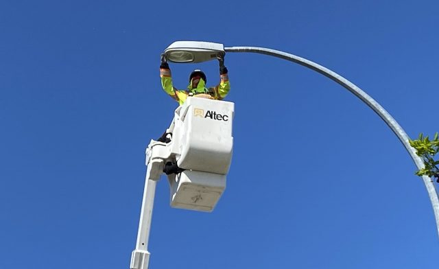 Converting street lights to LEDs saves City money, reduces greenhouse gases