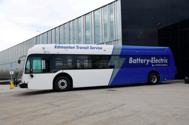 Electric buses set to roll out on streets of Edmonton