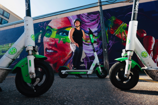 E-scooters take you places closer to home