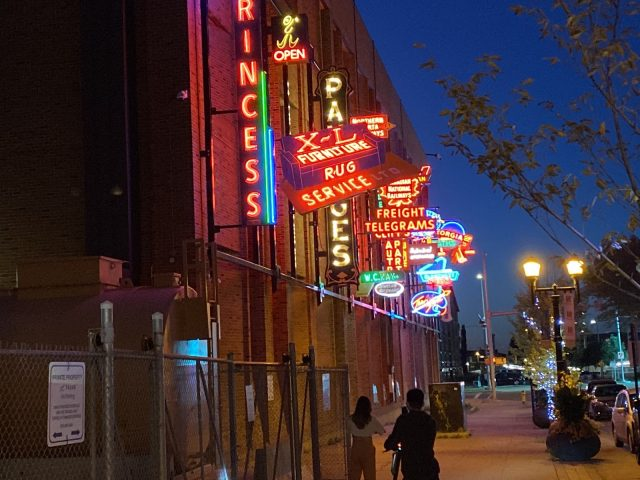 Closer to home: Edmonton's Neon Sign Museum