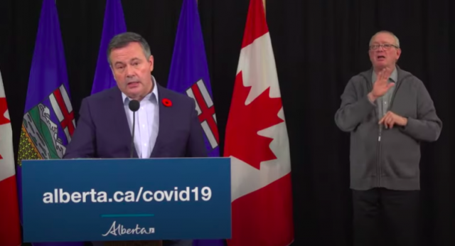 New voluntary COVID public health measure announced by Premier Kenney, Dr. Hinshaw: no social gatherings at  Edmonton, Calgary homes