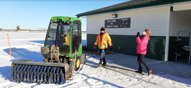 City snow equipment gets new lease on life with community league program