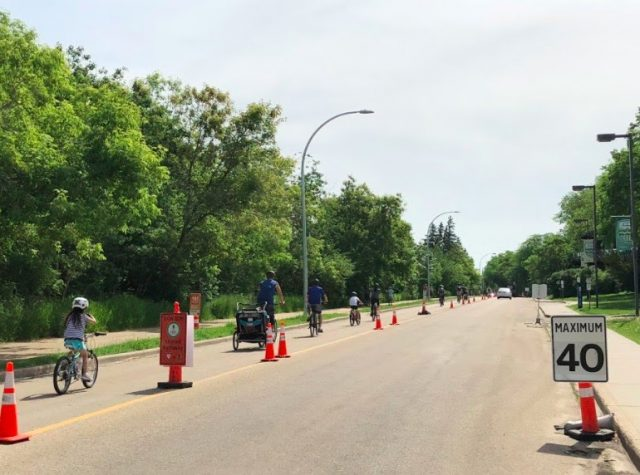 Shared Streets and Lane Closures to return to Edmonton this spring