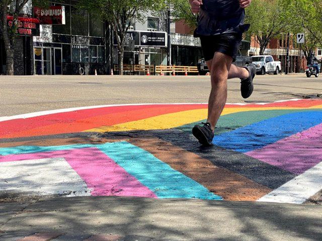 Inclusive sidewalks in Edmonton feature new design