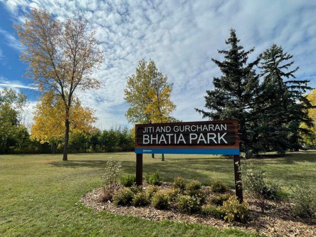 Edmonton park honours two human rights advocates