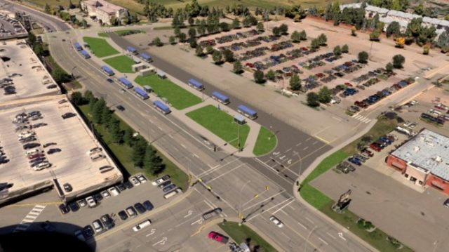 Construction on temporary West Edmonton Mall Transit Centre kicks off this month