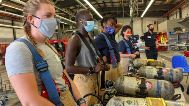 Camp Inspire: igniting the firefighter within