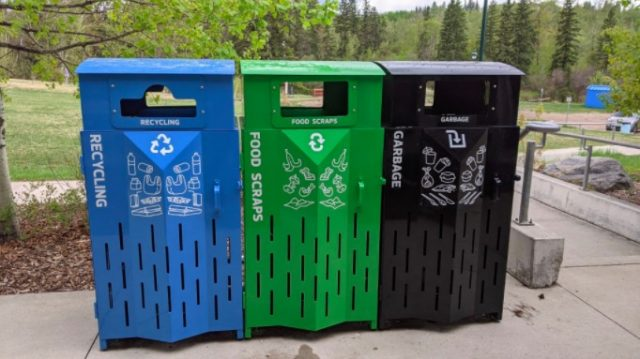 New sorting stations a colourful addition to Edmonton's waste diversion story
