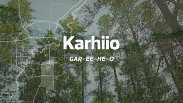 Ward Karhiio: Tall Beautiful Forest GAR-EE-HE-O