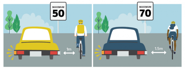 New passing-cyclists bylaw spells out safety in Edmonton